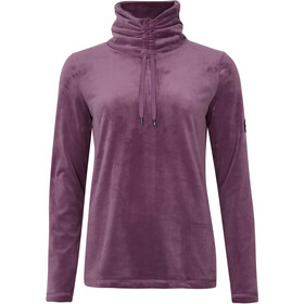 O'Neill Clime Plus Giacca in pile mezza zip Donna, viola
